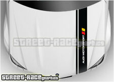 BS1905 Audi bonnet racing stripes graphics stickers TT quattro A1 A2 A3 A4