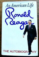 AN AMERICAN LIFE THE AUTOBIOGRAPHY  Ronald REAGAN 1990 1st/1st  HC  PHOTOS  VGC
