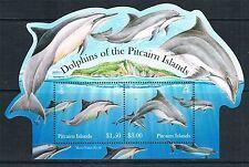 PITCAIRN ISLANDS Sc#736a DOLPHINS SOUVENIR SHEET 2012 MNH