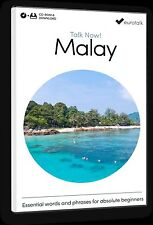 Eurotalk Talk Now Malayo PARA PRINCIPIANTES - Descarga Opción and CD ROM