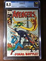 Avengers #71 (1969) - 1st Invaders! Black Knight! Sub-Mariner! - CGC 8.5!! - Key