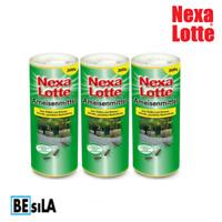 3 Pakete Nexa Lotte Ameisenmittel, Ameisenpulver, Dose zum Streuen (3x 300g)