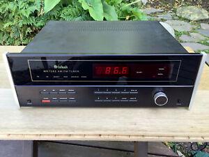 McIntosh MR7082 AM/FM Tuner 1980s vintage needs repair
