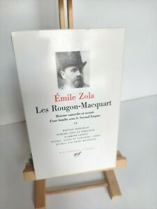 La Pléiade Emile ZOLA - Les Rougon-Macquart - volume IV - 1966
