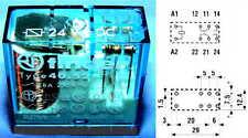 Finder 40.52 Printrelais 24V DC 8A Relais Relay Pitch 5 mm Raster Steckrelay Pin