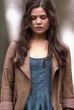 Anthropologie Elevenses Tan Mysa Leather Moto Jacket Size XS NWOT S/O $398