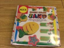 Alex Magic Color Sand Kit - Mold Fun Shapes with Wet Sand that Dries Overnight