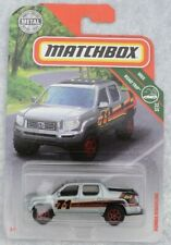 HONDA RIDGELINE PICK UP IN SILVER MATCHBOX 1:64 MINT ON LONG CARD A