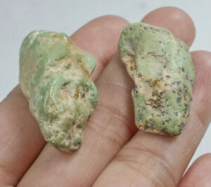 71.9Ct Natural Blue Green Turquoise Rough Specimen High Hardness YSTc3514
