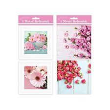 Just To Say Vierge Paquet de 8 cartes de notes cartes de notes floral (4096)