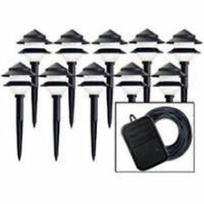 NEW MOONRAYS #95534 LANDSCAPE YARD 10 LIGHT SET LOW VOLTAGE SALE