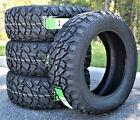4 New Lanvigator Catchfors M/T II LT 35X12.50R20 Load E 10 Ply MT Mud Tires <br/> Premium Quality Mud Tire