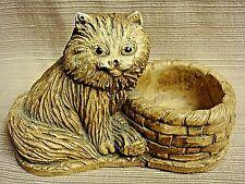 Vintage Cat Trinket Catch-All