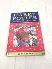 HARRY POTTER and the PHILOSOPHER'S STONE Celebratory FIRST EDITION 2ND PRINT Pb