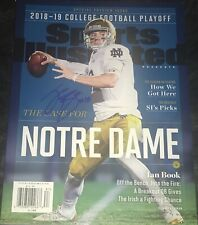 Ian Book Notre Dame Fighting Irish Autographed Signed Sports Illustrated