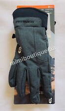 Free Country Mens Outdoor Gloves Softshell Gloves 3M Thinsulate Charcoal M/L $40