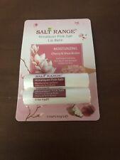 Nip Salt Range Himalayan Pink Salt Lip Balm Cherry & Shea Butter~Twin Pack~Great
