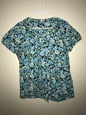 Women's St.John's Bay Floral Spring Top Blouse Size Ladies XL
