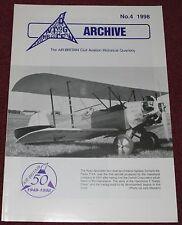 Air Britain Archive 1998 #4 Flying Flea