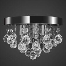 vidaXL Plafondlamp Kristal en Chroom Hanglamp Lamp Kroonluchter Verlichting