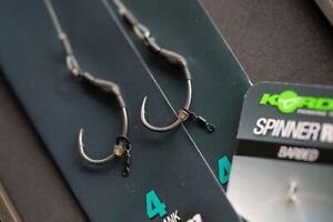Korda Ready Tied Krank Spinner Rig x3 Packs *New* - Free Delivery