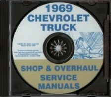 CHEVROLET 1969 Pickup, Van, Blazer, Suburban & Truck Shop Manual CD
