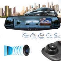 HD 1080P 12.0MP Lens Vehicle Rearview Mirror Camera Recorder Car DVR Dash Cam KT