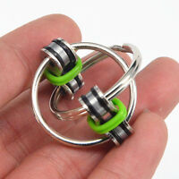 Hot Chain Fidget Toy Hand Spinner Key Ring Sensory Toys Stress Relieve ADHD