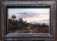 Gorgeous, Fernando Martinez Checa (1858-1933) Spanish Painter - Oil on wood - La