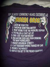 Mardi Gras 1998 T-Shirt xl