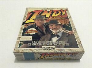 Indiana Jones The Last Crusade Adventure **Lucasfilm** PC/Amiga Big Box complete