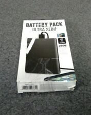 Battery Pack Ultra Slim One Full Charge Black 2500mah iphone Galaxy Android M18B