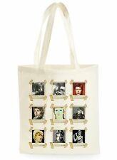 DAVID BOWIE POSTER COOL FASHION SHOPPING CANVAS TOTE BAG IDEAL GIFT PRESENT