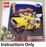NEW INSTRUCTIONS ONLY LEGO PIZZA PLANET TRUCK RESCUE 7598 manual book from set