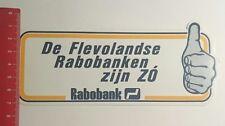 Aufkleber/Sticker: Rabobank de Flevolandse (301216171)