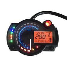 299km /h LCD Digital Tachometer Motoscope Speedometer Motorrad Motorcycle OBD