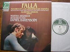 NUM 75316 FALLA: NIGHTS IN THE GARDENS  ARGERICH / O de PARIS / BARENBOIM  NM