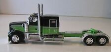 DCP 1/64  BLACK AND GREEN KENWORTH FLATOP