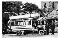 pt0710 - The Habercham Bus , Burnley , Lancashire - photograph 6x4