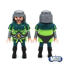 playmobil® Figur: Samurai | Mongole | Asiate | Ritter | Soldat | grün | silber