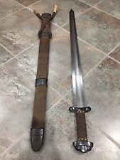 Hanwei Godfred Viking Sword Damascus Steel Hand Forged Pattern, Welder Blade