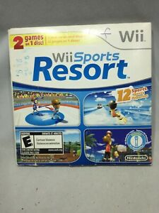 Wii Sports & Wii Sports Resort 2 in 1 Disc (Nintendo Wii, 2009) Tested