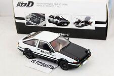 "AUTOart 1:18 scale Toyota AE86 Sprinter Trueno INITIAL D ""Project D Ver."" 78797"