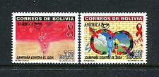Bolivia 1111-1112, MNH.2000, UPAEP 2v. x27674