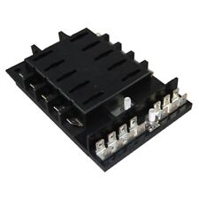 Marine Grade Fuse Block Panel for Ato/Atc Style Fuses Boat 10 Gang