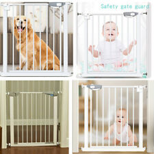 New listing Dog Gate Pet Cat Fence Baby Toddler Security Walk Through Safety Doorway Fence