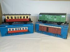 Lot Of Two Marklin Train Cars 5800 And 5862 Spur 1