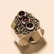 Nice Ring Silver Plated Amethyst Gemstone Handmade Fashion jewelry
