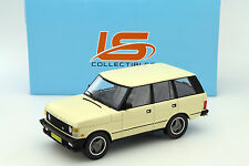 Range Rover Series 1 Baujahr 1986 beige 1:18 LS Collectibles