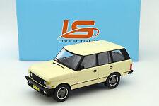 Range Rover Series 1 Année modèle 1986 Beige 1:18 ls Collectibles
